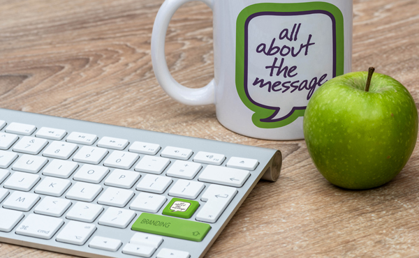 all about the message mug and apple