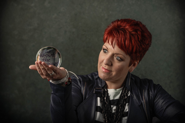 andrea hardiman looking in to crystal ball