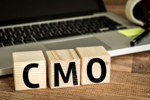 CMO on wooden blocks